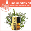 100% Pure plant essential oil pine needle oil 2ml Antibacterial improve bronchial laryngitis