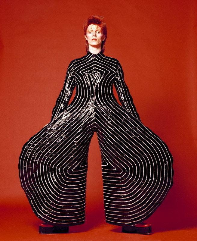 David Bowie Art Silk Poster 8x12inch