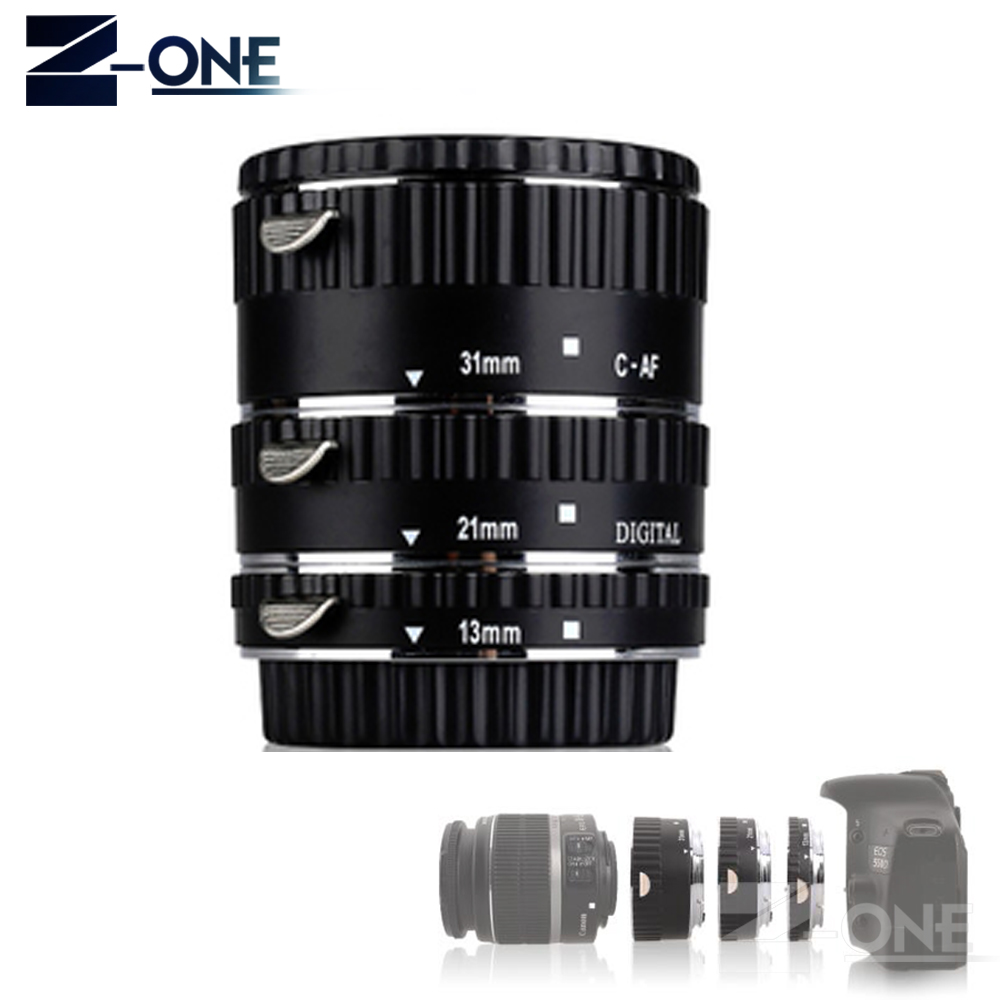 Meike MK C AF1 AL Metal Autofocus AF Confirm Macro Extension Tube for Canon EOS 5D