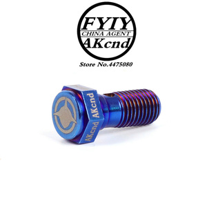 Image 5 - AKCND Motorcycle brake Caliper banjo bolt Oil Drain Screw/Hollow Screw M10x1.25mm For Brake hose Caliper Master Cylinder