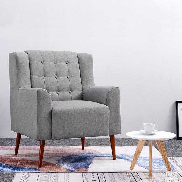 US $181.9  Moderne Leinen Stoff Badewanne Stuhl Sessel Wohnzimmer Lounge  Sofa Dropshipping in Moderne Leinen Stoff Badewanne Stuhl Sessel Wohnzimmer  ...