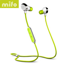 Original Mifo i8 Bluetooth Sports Earphone Wireless Stereo Music Headpone Earbuds Magnetic Suction Charging Earplug Earphones(China)