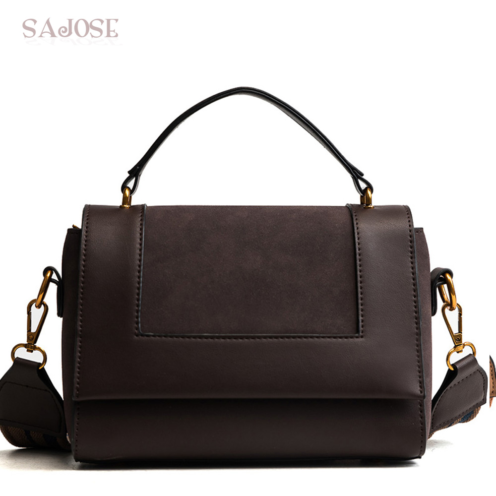 Women Handbags Shoulder Bags With Bags Leather Fashion Crossbody For Girl Gray Vintage Bag DropShipping