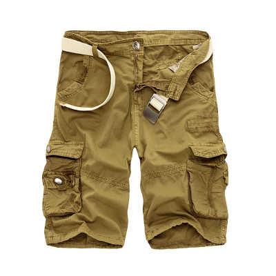 2019 для мужчин s Военная униформа брюки карго шорты для женщин Фирменная Новинка армия камуфляж тактические Шорты хлопковые свободные работы