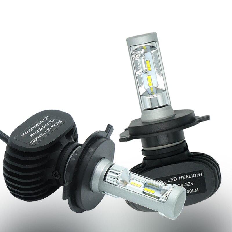 Scheinwerfer H4 H7 H13 H11 H1 9005 HB3 9006 HB4 9003 HB2 9007 HB5 Led-lampe 50 Watt 8000Lm Auto Licht 12 V Nebelscheinwerfer Autos 6000 Karat CSP