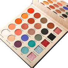 Water-Resistant Professional 25 Colors Eyeshadow Pallete