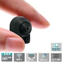 Estenoscopio oculta cámara IP poe 1MP wifi inalámbrico IOS y Android APP p2p Onvif Cámara secreta Oculta