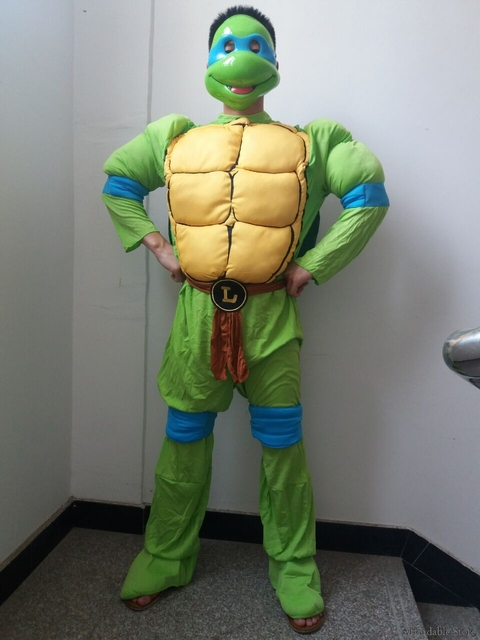 role playing clothing mens turtle suit ninja turtle cosplay costume halloween costume costume