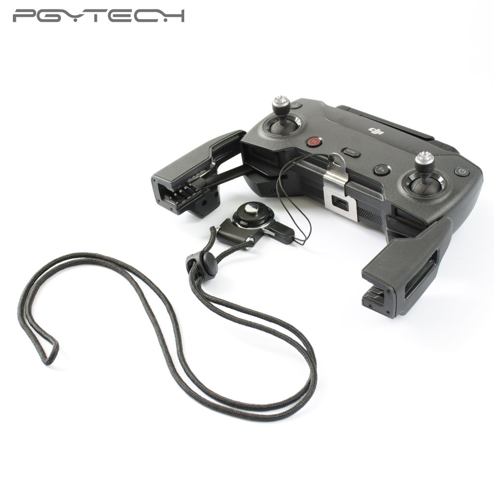 PGYTECH Remote Controller Clasp for DJI Spark drone accessories Length of the Lanyard Adjustable Neck Sling