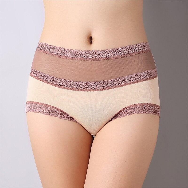 Seamless Women High Waist Knickers Panties Briefs Underwear Underpants Lingerie