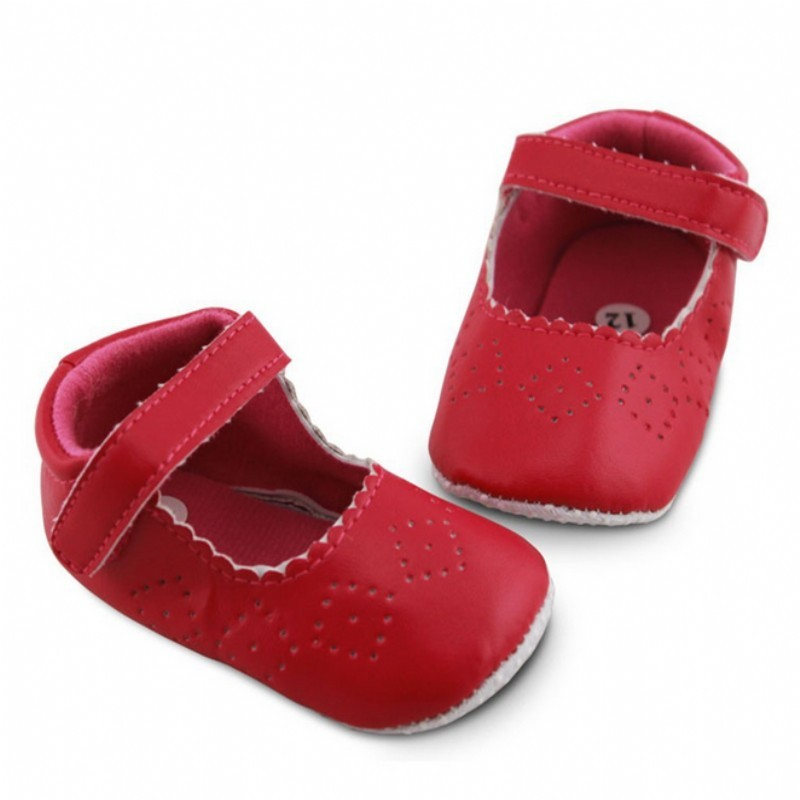Anti-slip Leather Baby Moccasins
