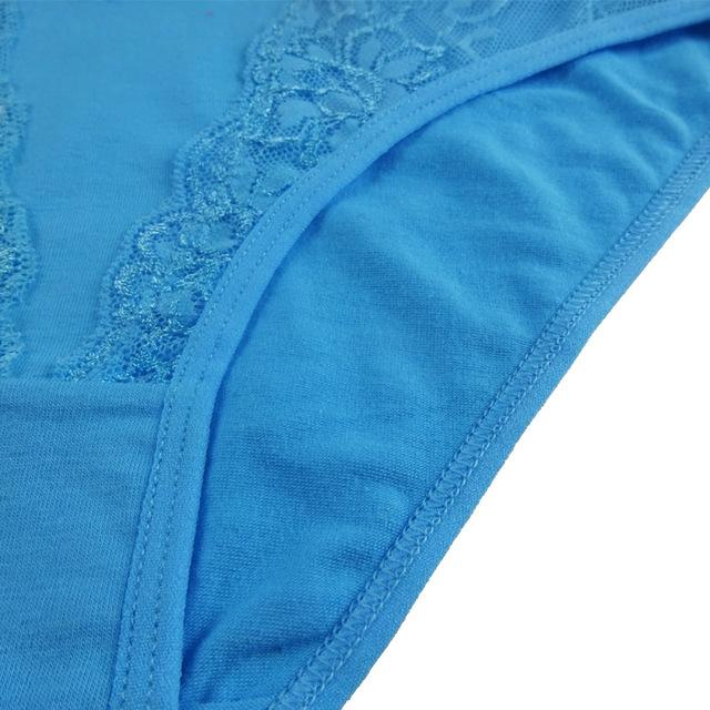 Sexy Transparent Lace Panties Cotton Women Underwear