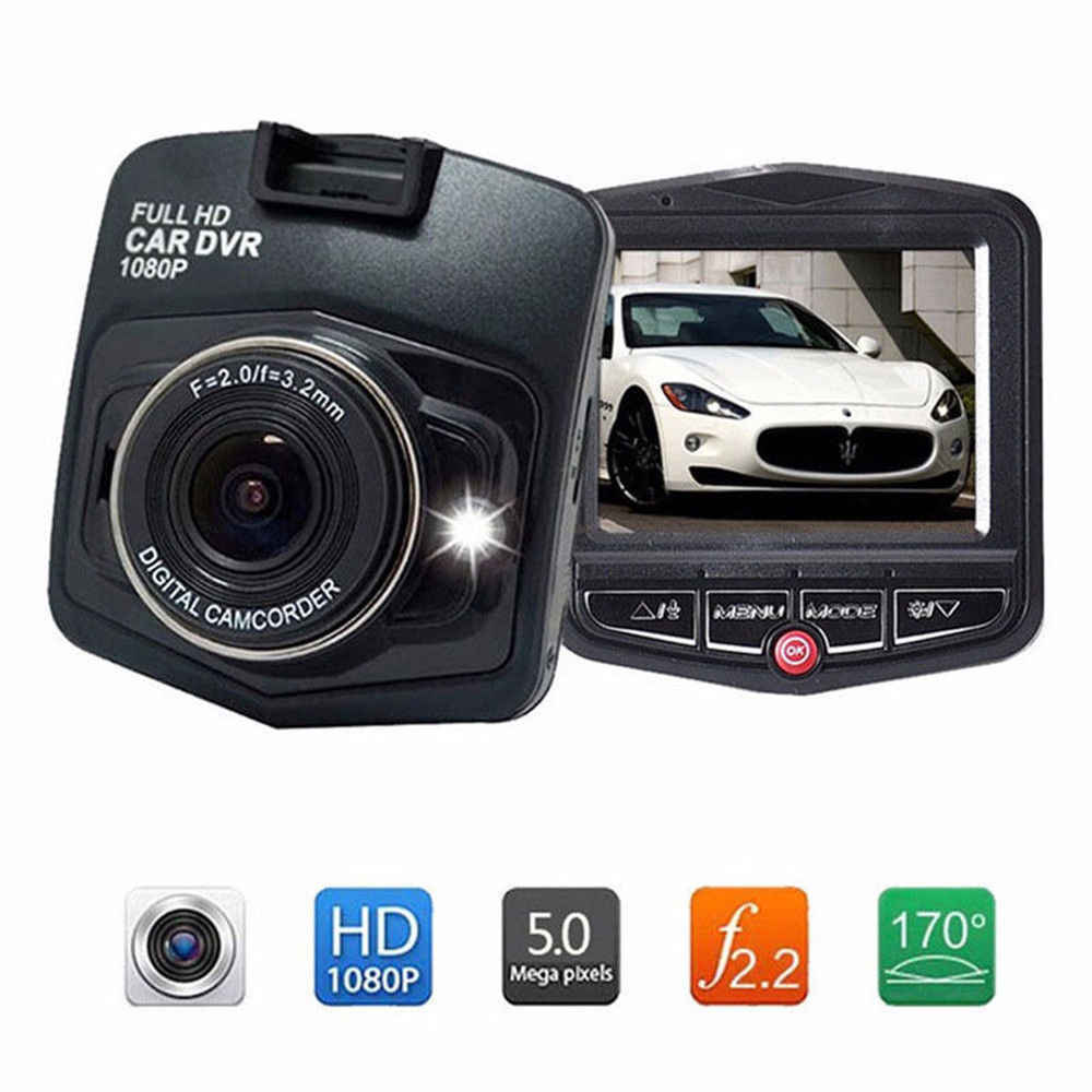 "2.4"" Full HD 1080P Car DVR Vehicle Camera Video Recorder Dash Cam Black"