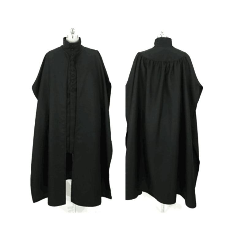 Hogwarts School Severus Snape Costume potter robe