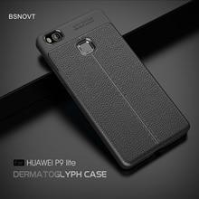 For Huawei P9 Lite Case Soft Silicone PU Leather Anti-knock Cover L21 L31 L22 L23 L53