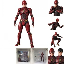 DC Justice League Super Hero MAFEX The Flash 058 Figure MAF Action Figures Toys Doll