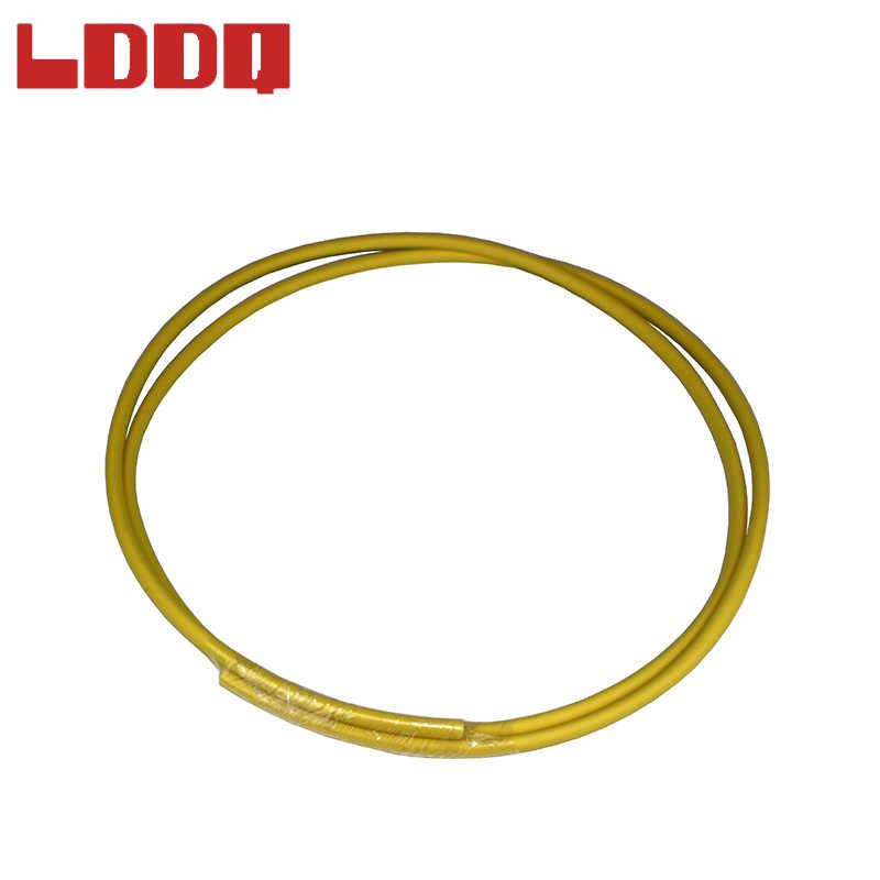 LDDQ 20 M 3:1 ความร้อนหดท่อกาว Dia1.6mm ลวด Wrap หลอดสายกันน้ำ HEATSHRINK Gaine Thermo termoretractil