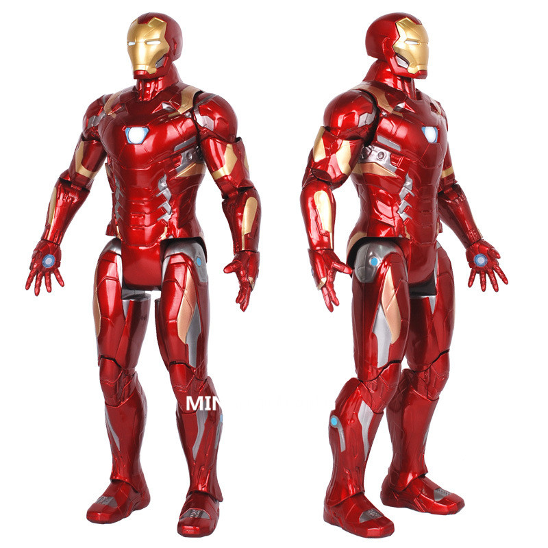 Avengers Infinity War Superhero Iron Man Hulk Red Hulk Vision Megamind Ultron 15 Inches Action Figure Collectible Model Toy D157 funko pop marvel the hulk no 08 red hulk no 31 iron man vinly bobble head pvc action figure collectible model toy gift for kids