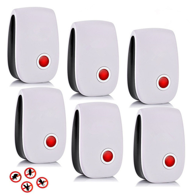 6pcs Cat Ultrasonic Mosquito & Insect Repeller