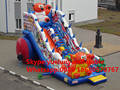 (China Guangzhou) manufacturers selling Inflatable castle  inflatable slides,Bear Slide KY-666