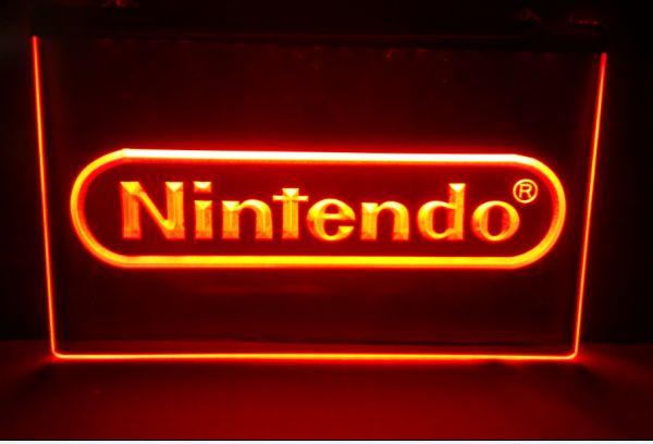 Игра Nintendo, пивной бар, паб, клуб, 3d вывески, светодиодная неоновая световая вывеска, винтажные украшения для дома, поделки