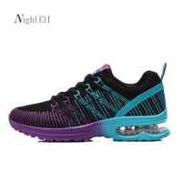 Night Elf Running Shoes For Women Sport Shoes Woman Spring Summer Flywire Barefoot Shoes Breathable 2017