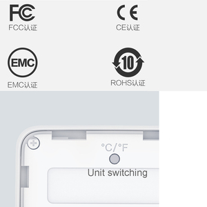 Image 5 - 100% Youpin MiaoMiaoCe E Link حبر شاشة عرض مقياس الرطوبة الرقمية عالية الدقة ميزان الحرارة مستشعر درجة الحرارة والرطوبة