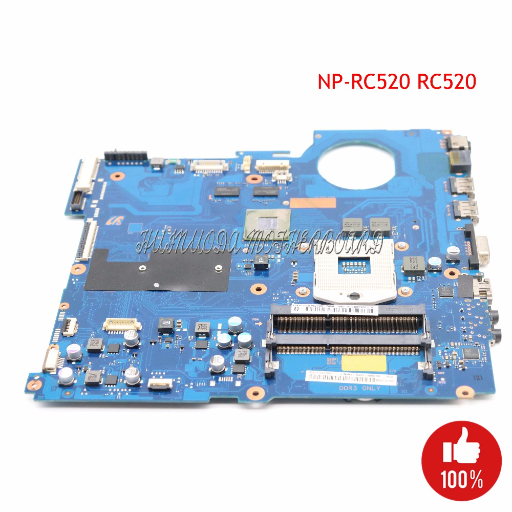 NOKOTION BA92-08079A BA92-08079B Main board For Samsung NP-RC520 RC520 15 inch Laptop Motherboard HM65 DDR3 GT520M 1GB work infinity lingerie женщинам