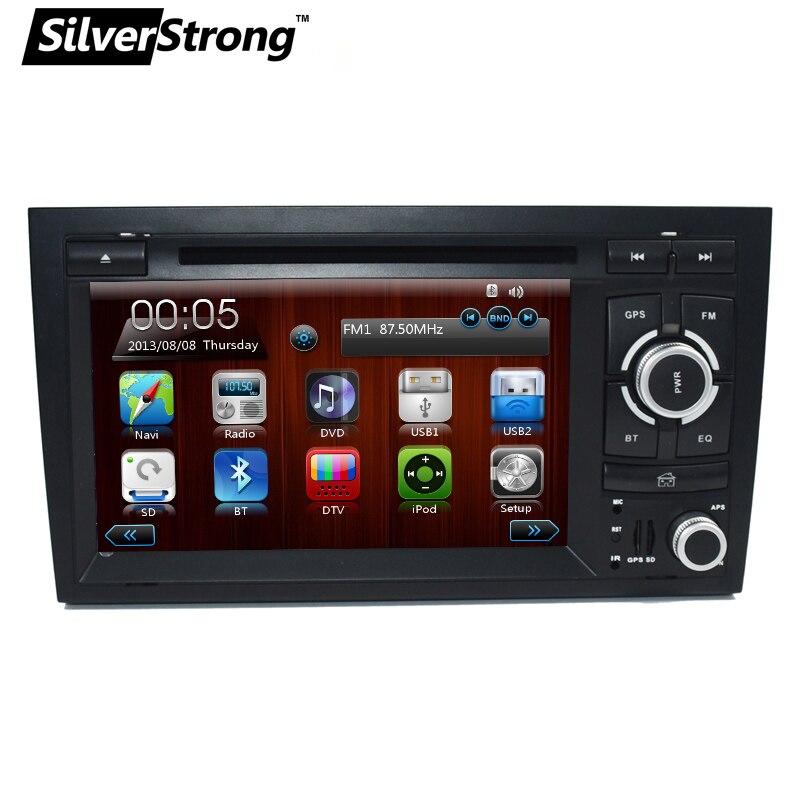 """imágenes para FreeShipping 2Din de 7 """"coches Reproductor de DVD para Audi A4 2002 2003-2007 DVD Del Coche de Radio Navegación Multimedia Estéreo para Audi A4 A4 DVD del coche"""