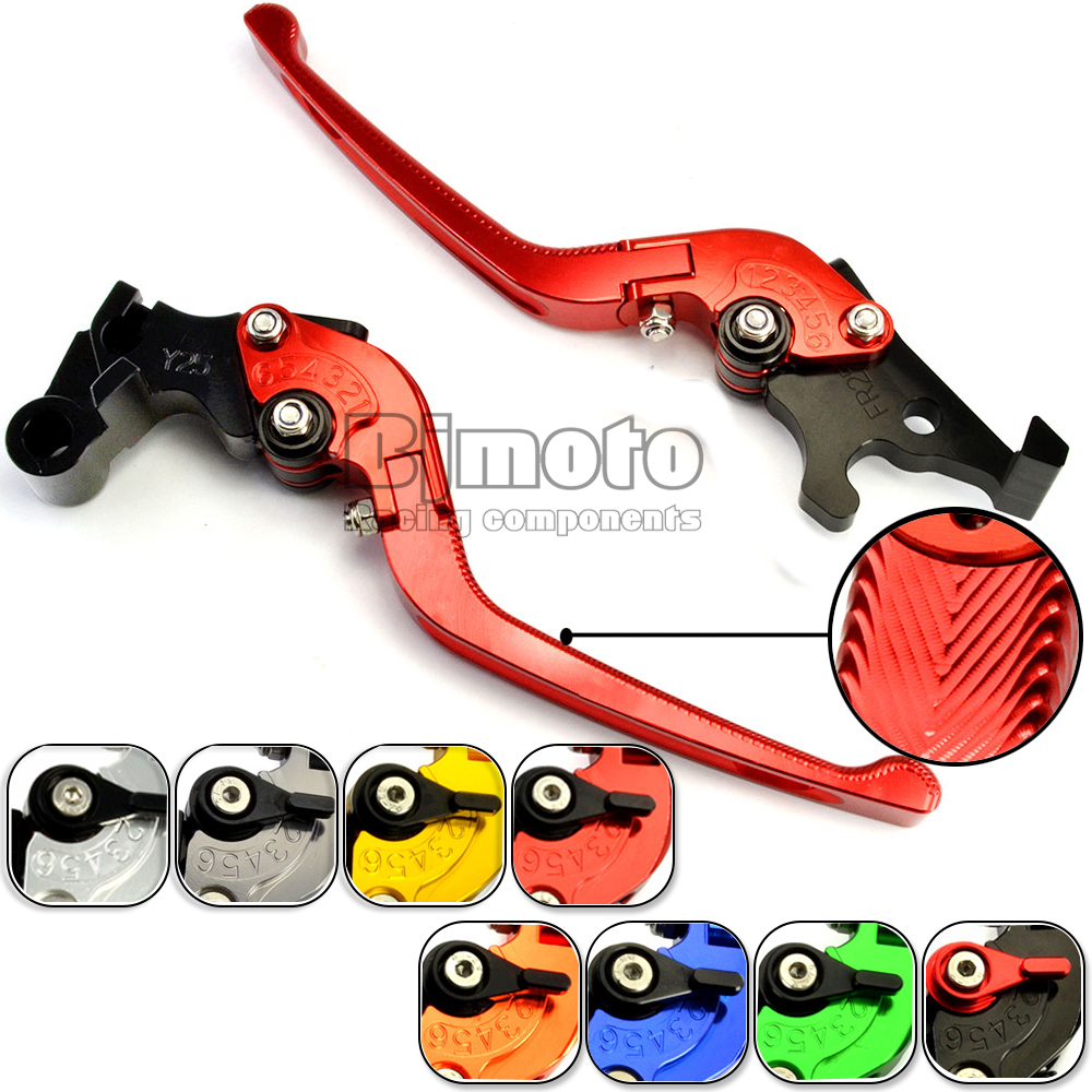 ФОТО Motorcycle Adjustable CNC Brakes Clutch Levers Motorbike Brake For Yamaha R25 R3 MT25 MT03 Tmax 500 530 MT07 MT09 FZ1 FZ6 XJ6