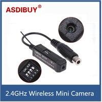 Nhỏ nhất 2.4 GHz wireless mini camera tiny máy ảnh máy phát không dây giá bán buôn built-in Mic Cam CM200