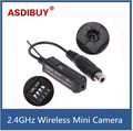 Smallest 2.4GHz wireless mini camera tiny camera wireless transmitter wholesale price built-in Mic Cam CM200
