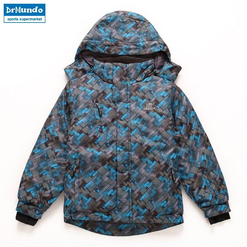 84093380b Boys Outdoor Ski jackets Waterproof Windproof Warm Skiing Jacket ...