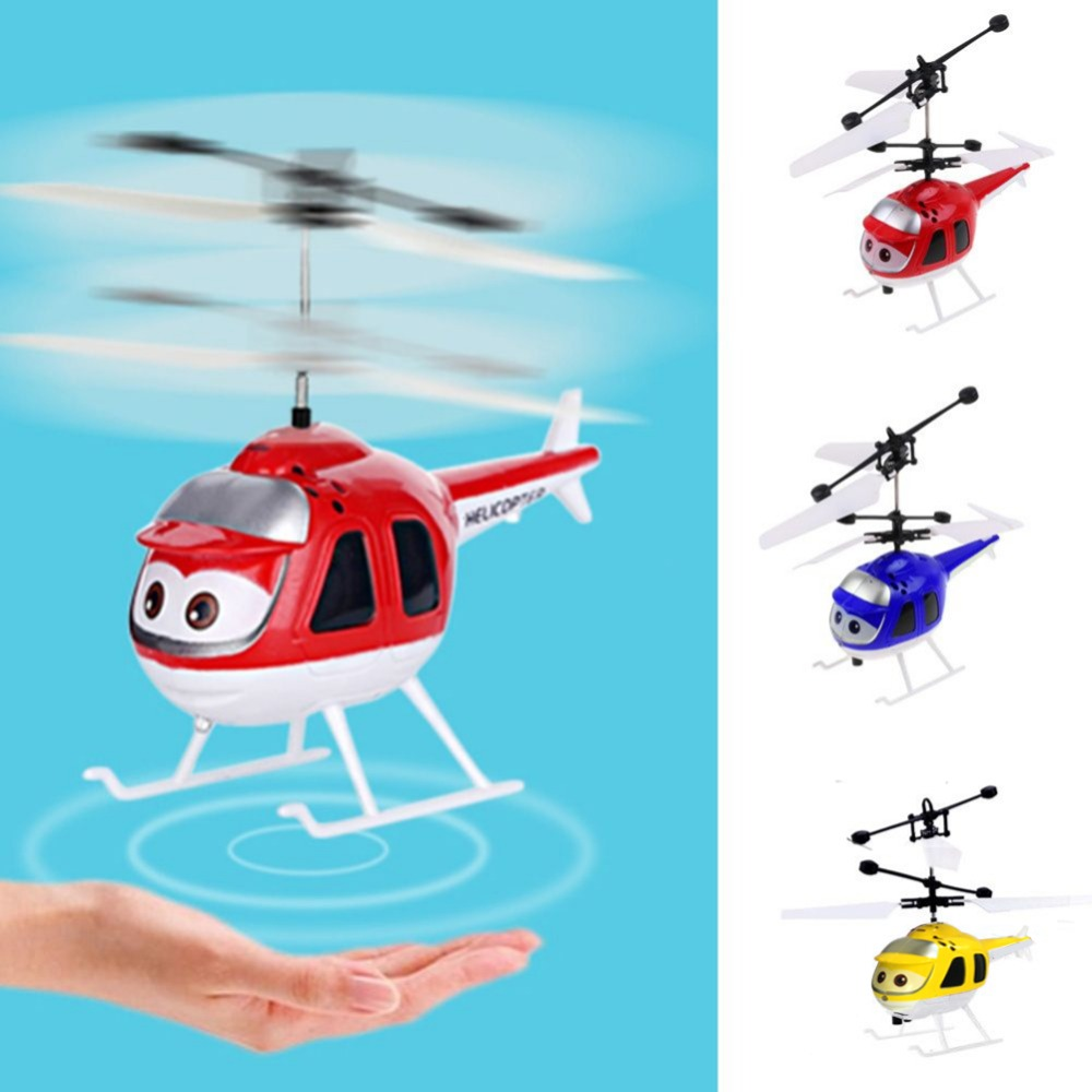 Hot Saleaircraft 3d Gyro Helicoptero Mini Infrared Sensor Helicopter Electric Micro Helicopter Birthday Toy Gift For Kid#257747