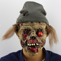 2016 Halloween Angry Zombie Horror Mask Full Face Cosplay Ghost Mask Horror Scary Mask Prank