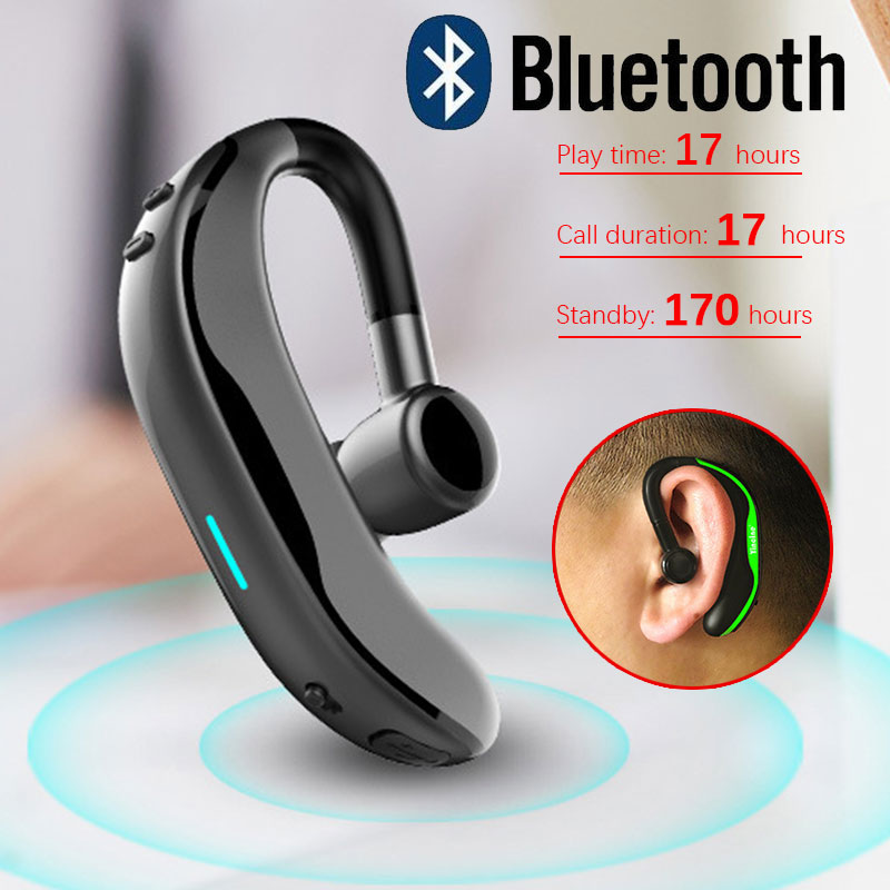 2019 New Wireless Bluetooth Headphones Stereo Bass Headset With Mic Business Bluetooth Earphones  For IPhone Xiaomi Huawei