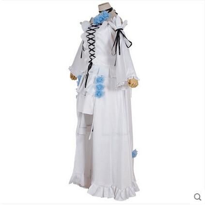 Yeni Anime Pandora Kalpler Cosplay Alice Beyaz Tavşan Cadılar - Kostümler - Fotoğraf 3
