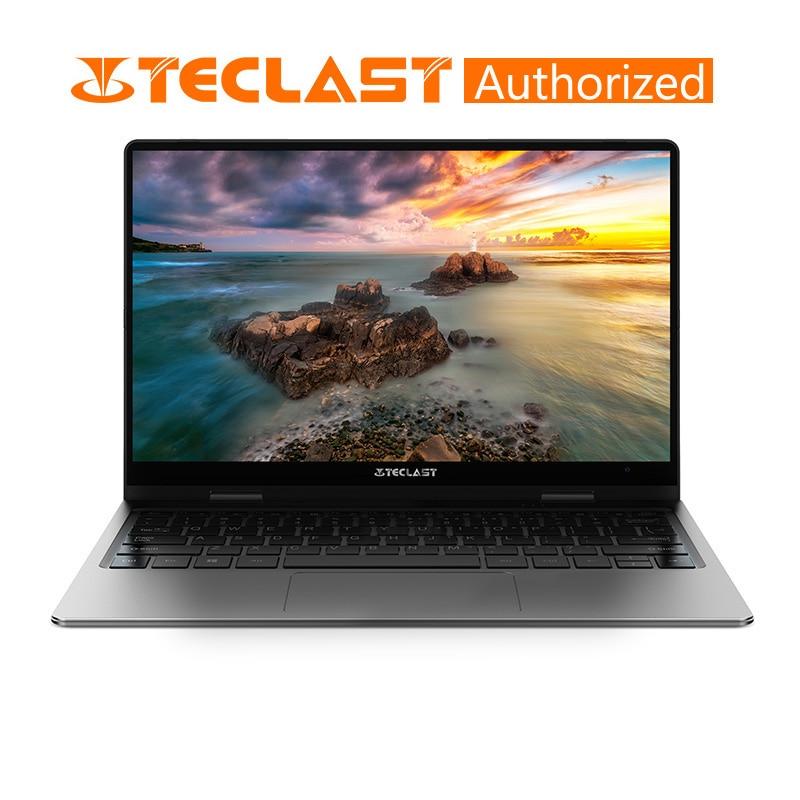 Teclast F6 Pro 360 Degree Laptop Windows 10 OS 13.3 Inch 1920x1080 8GB RAM 128GB SSD Intel Core M3-7Y30 Dual Core Notebook
