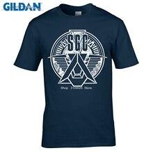 GILDAN 2017 Sale Promotion Fashion Broadcloth Cotton Tee Custom T Shirts  Cheap Short Stargate Military Men