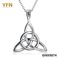 GNX9874 100 Real Pure 925 Sterling Silver Luck Jewelry Necklaces Pendants Fashion Jewelry Monkey Year Gifts