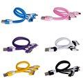 Multifuncional 3 en 1 Cable Del Cargador Del Teléfono Móvil Plana Micro Cable USB para iPhone 4 4S 5 5S 6 6 S Samsung Galaxy Sony HTC Teléfonos Inteligentes