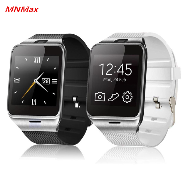 2016 Hot GV18 bluetooth smart watch support NFC SIM font b smartwatch b font for Android
