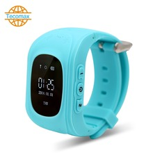"Bluetooth kind smart watch gps + lbs dual-modus positionierung armbanduhr sos alarm ip54 0,96 ""oled smartwatch für kinder anti-verloren"