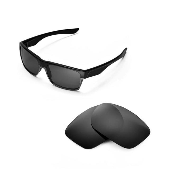 6d43bfb648 Walleva polarizada titanium lentes de repuesto para oakley twoface gafas de  sol 3 colores disponibles
