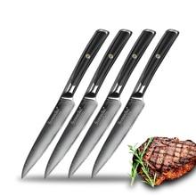 Knife-Sets Chef's Steak Japanese VG10 Meat Kitchen Damascus Steel SUNNECKO Dinner 5-Core-Blade