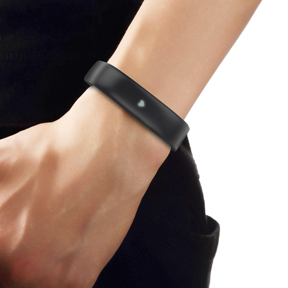 Lenovo HW02 Smart Bracelet Band Men Women Heart Rate Sleep Monitor Wristband Social Sharing Find Phone Watch for IOS Android new fashion smart watch dial call 16g card heart rate monitor wristband for ios android bluetooth smart band women men bracelet
