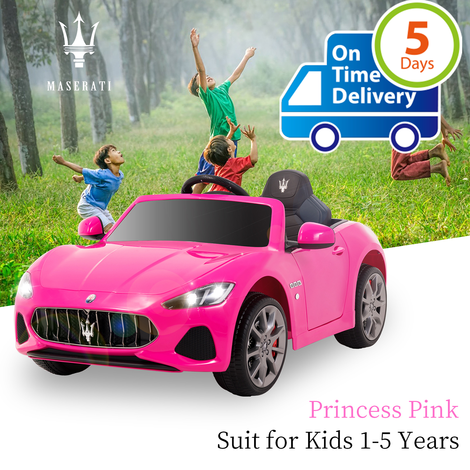 Uenjoy  12V Electric Kids Ride On Cars Motorized Vehicles for Girls W/Remote Control, Wheels Suspension, Mp3Uenjoy  12V Electric Kids Ride On Cars Motorized Vehicles for Girls W/Remote Control, Wheels Suspension, Mp3