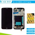 Black For LG Optimus G2 D802 LCD Display Panel Screen + Digitizer Touch Screen Glass With Frame Assembly