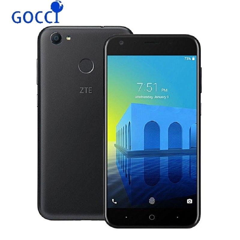 ZTE Voyage 5 4G LTE Smartphone 5 2 inch snapdragon 425 5000mAh 13MP 5MP Camera 3GB