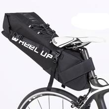 LumiParty 10L Bike Long Saddle Rear Seat Bicycle Cycling Waterproof Pannier Bag Carrier Portable Seat Pouch Package